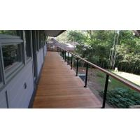 Quality Building stainless steel balcony wire / cable railing for staircase design for sale