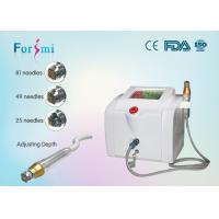 Quality auto micro needle therapy system rf skin radiofrequency in cosmetic dermatology for sale