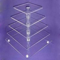Quality CD (93) square cake stand for sale