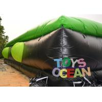 Quality Super Giant Inflatable Game Air Jumping Bag Bike Skiing Snow Board High Jump for sale