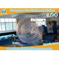 Quality 2.8*1.8m Transparent Inflatable Zorb Ball Inflatable Pool Zorb Hamster Ball for sale