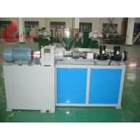 China High Efficient Single Screw pvc extrusion machine For PP PE , Electrical heating on sale