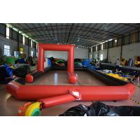 Quality Inflatable racing track for karting games interesting outdoor inflatable sport games racing area for sale