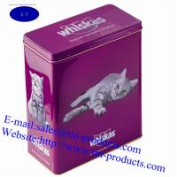 Quality Different High Quality & Shapes food packaging BoX , food Packaing Can with emboss for sale