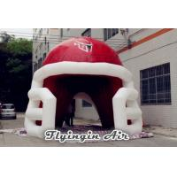 Quality Cheap Inflatable Sport Helmet Tunnel for Football Team and Baseball Team for sale