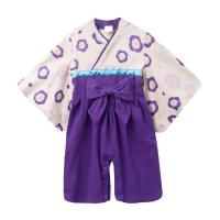 Quality 2019 Spring Cute Newborn Baby Clothes Japanese Kimono Romper Long Sleeve for sale