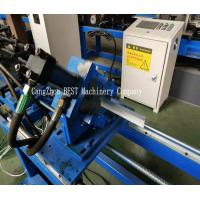 Buy cheap T Grid Light Steel Keel Roll Forming Machine PLC Control Hydraulic Cutting from wholesalers