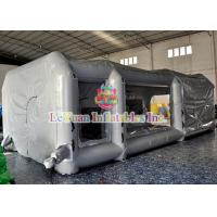 China Customized Mobile Automatic Inflatable Spray Paint Booth / Car Tent Cover on sale