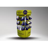 Quality Green Cardboard Stationery Display Stand Designed for Promotion With Glossy lamination for sale