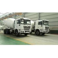 Quality SHACMAN Second Hand Concrete Mixer Trucks , Used Concrete Mixer 99 Km/H Max Speed for sale