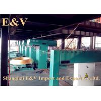 Quality 3000 mm/min Upward Barss Rod Continuous Casting Equipment 380 Kg/H Copper Melting Velocity for sale