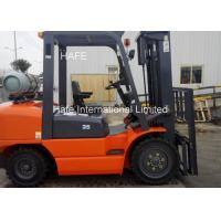 Quality Red Propane Fuel System Forklift 3.5t 6m Type With High Exhaust Automatic for sale