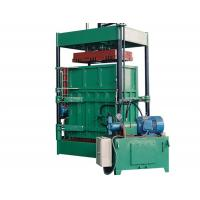 Quality 2.2 KW Power Vertical Cardboard Paper Baler Machine With Special Forklift for sale