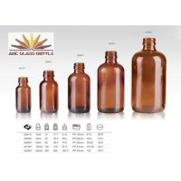 Buy Trustworthy China Supplier Amber Glass Bottle For Amber at wholesale prices
