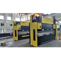 Quality Delem System Steel CNC Hydraulic Press Brake 120T Amada Toolings 380V / 50HZ for sale