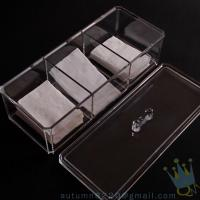 Quality acrylic drawer organizers for sale