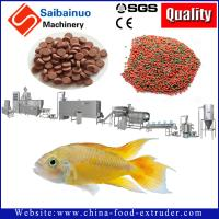 Quality floating and sinking fish feed processing making machine line with good quality for sale