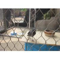 China Stainless Steel Aviary Wire Mesh Bird Netting for Sale and Visitor Protection on sale