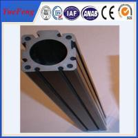 Quality HOT!!!Export high quality of custom t slot anodized black color aluminum extrusions for sale