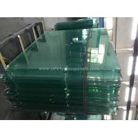 China 8mm Thick Heat Treating Tempered Safety Glass Window And Door for sale
