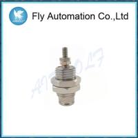 Buy cheap Silvery Single Acting Spring Return Cylinder 6mm Stainless Steel CJPB10-10 CJPB6 from wholesalers