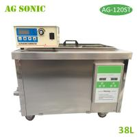 Quality 38L Digital Ultrasonic Cleaner with Separate Generator Control For Pump Filter Cleaning for sale