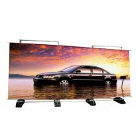 Quality Custom Double Sided Retractable Banner Stand , Outdoor A Frame Roll Up Banner Stand for sale