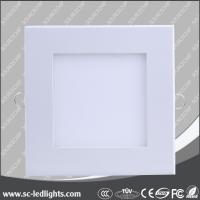 China Dongguan 2014 hot sales recessed 12w led panel manufacturer on sale