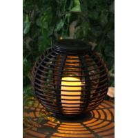 Quality Garden Rattan Solar Lights for sale