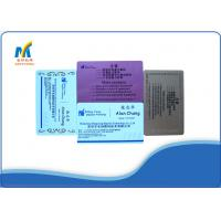 Buy Sublimation Blank Aluminum Business Cards at wholesale prices