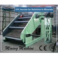 Quality Linear Vibrating Screening Machine Adjustable for building industry for sale