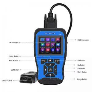 China HUMZOR NexzCheck NC501 OBD2 & EOBD Scanner for Universal Vehicles on sale
