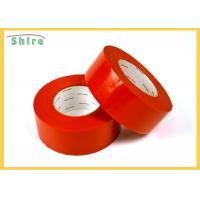 30 Day Red Stucco Making Tape Natural Rubber Adhesive Stucco Tape for sale