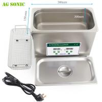 Quality 6L 180W Laboratory Variable Frequency Ultrasonic Cleaner For Scientific Research for sale