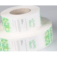 Quality Food PVC Self Adhesive Labels Matte / Glossy Lamination Finish CMYK Colors for sale