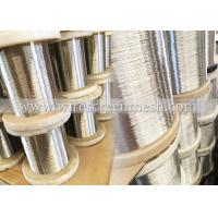 Buy cheap High Tensile Stainless Steel Wire , Soft Thin Metal Wire Acid Resistance from wholesalers