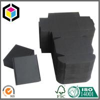 Quality Black Kraft Paper Shipping Box; Single Wall Handmade Corrugated Mailing Box for sale
