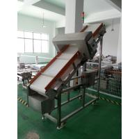 Inclined Conveyor Belt Metal Detector Foods Inspection Use With Memory Function
