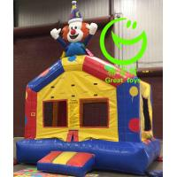 Quality 2016 hot sell Clown inflatable bouncer  with 24months warranty GT-BC-1838 for sale