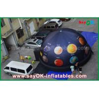 Quality 6m 210 D Oxford Cloth Portable Inflatable Planetarium Dome for Cinema with Full Printing for sale