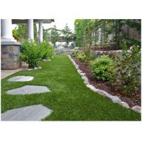 Buy 40mm U Shape Landscaping Artificial Grass For Residential Lead Free 4 Tone at wholesale prices
