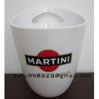 Quality Round plastic clear ice bucket for sale