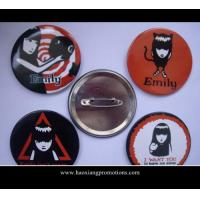 Quality hot sale lovely gif tsmall tin button badge, tin button badge for sale