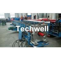 Quality Round / Square Custom Downpipe Roll Forming Machine For Metal Rainspout Profile for sale