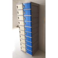 Buy Red 4 Tier Lockers With Keyless Lock , Staff Storage Lockers For Factory at wholesale prices