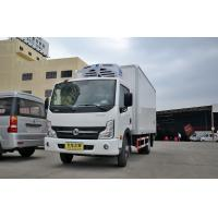 Quality 3 Ton Small Cooling Van Refrigerated Freezer Truck , Manual Refrigerated Box Van for sale