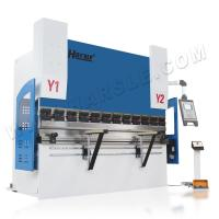 Quality HARSLE 63T/2500 CNC hydraulic press brake for carbon steel sheet metal with Italy ESA system for sale