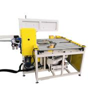 Quality Automatic Steel Coil Wrapping Machine With Adjustable Take Up Arm Φ30-65mm for sale