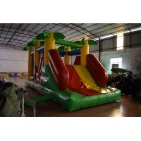 Quality Classic Inflatable Forest Animals Palm Trees Inflatable Obstacle Courses For Kids for sale