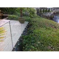 Quality Inox stainless steel patch fitting / standoff glass railing for exterior use for sale